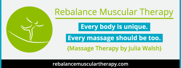 Welcome to Our New 2015 Sponsor – Rebalance Muscular Therapy
