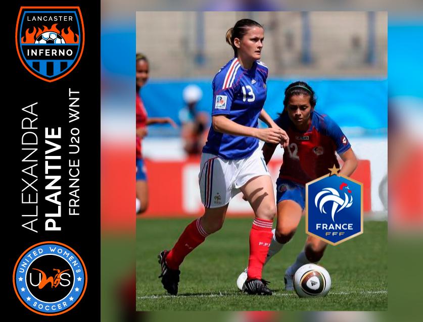Alexandra Plantive Lancaster Inferno United Women's Soccer league UWS