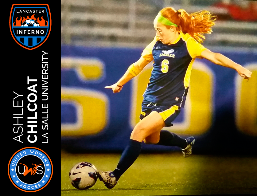 Ashley Chilcoat Lancaster Inferno United Women's Soccer league UWS