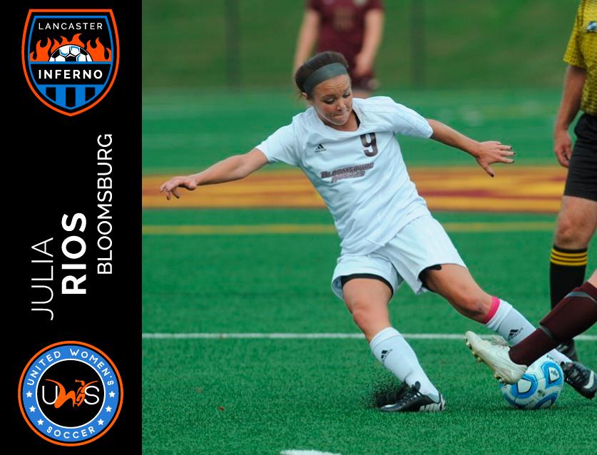 Julia Rios Lancaster Inferno United Women's Soccer league UWS