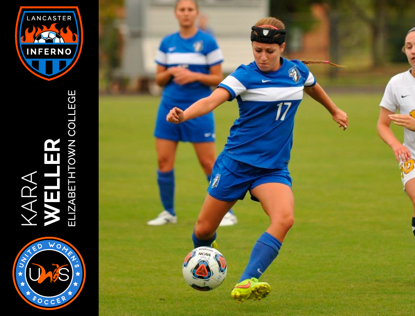 Ashley Chilcoat Lancaster Inferno United Women's Soccer league UWS