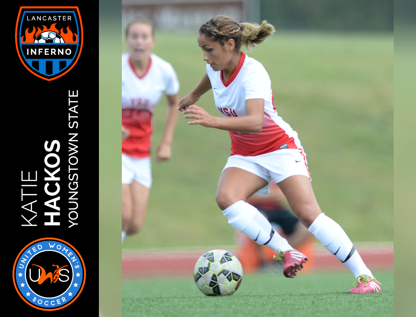 Coralia Monterroso lancaster inferno uws united women's soccer pro am league