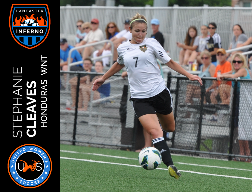 Stephanie Cleaves Signs to Play With Lancaster Inferno Pro-Am Women's Soccer UWS League
