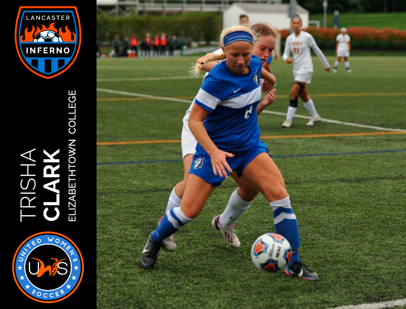 Trisha Clark Signs to Play With Lancaster Inferno Pro-Am Women's Soccer UWS League