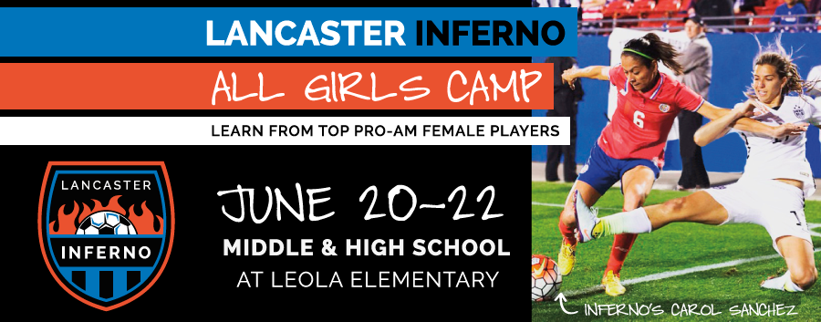 Lancaster Inferno All Girls Camp in June 2016 caf89b658