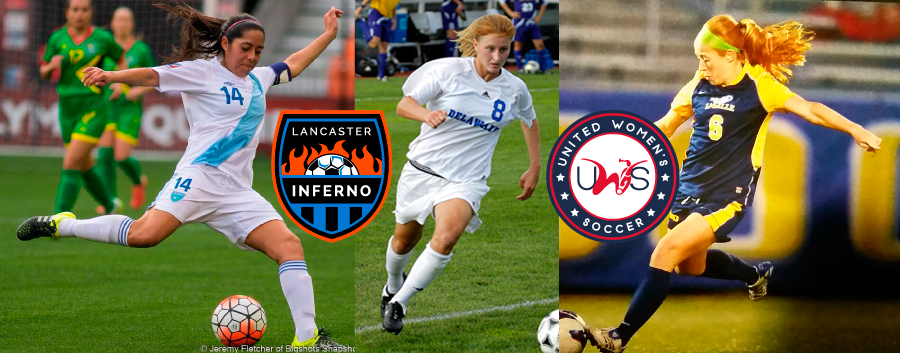 Amy Rieker Lancaster Inferno womens pro am soccer league uws