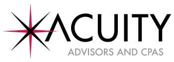 Acuity Advisors CPA Top Financial Advisors CPAs