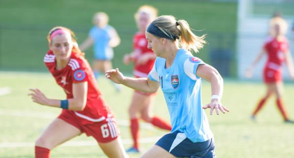 Lancaster Inferno United Women's Soccer UWS pro-am Pennsylvania Sydney Blomquist