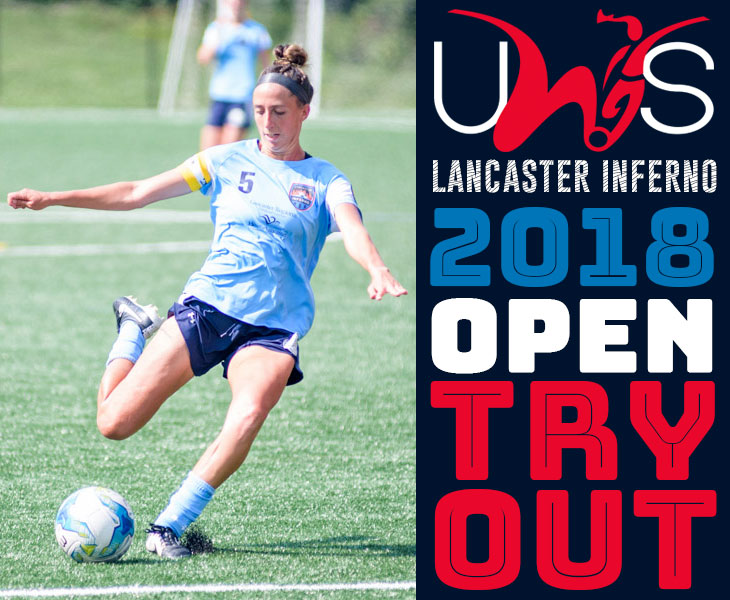 lancaster inferno tryouts pennsylvania pa women soccer team pro am professional