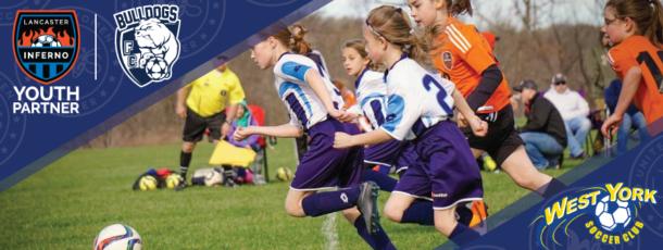 Bulldogs FC West York Soccer Club Pennsylvania Lancaster Inferno Youth Club Partner