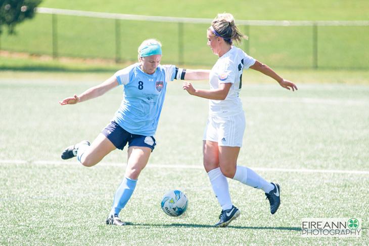 Lancaster Inferno vs LI Long Island Rough Riders Women's Soccer UWS Trisha Clark