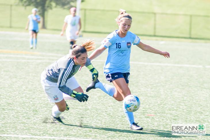 Lancaster Inferno vs LI Long Island Rough Riders Women's Soccer UWS Haley Crawford JMU