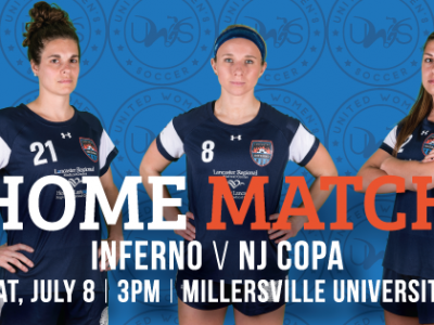 Lancaster Inferno vs NJ Copa FC United Women's Soccer Game Pennsylvania UWS