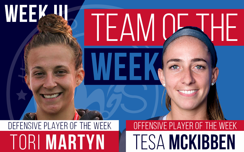 united women's soccer uws team of the week lancaster inferno rush soccer women's soccer pennsylvania tesa mckibben